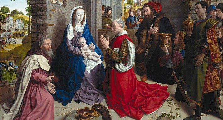 The Adoration of the Kings - Monforte altar